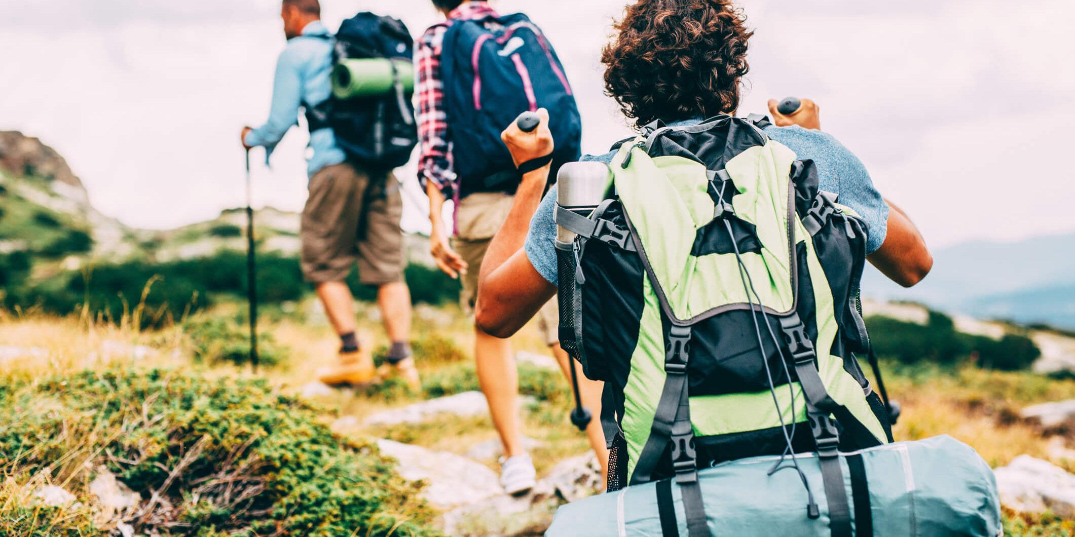 trekking - persone attrezzate